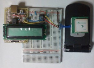 PIC-ADM3202-GT-720F + LCD