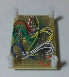 dsPIC30F4012モジュール(裏側)