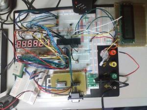GPSモジュール付きPIC時計