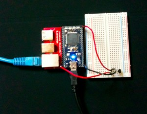 mbed+lm60+twitter