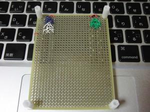 AKI-H8/3069F用ベースボード(裏)