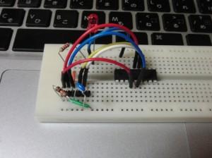 PIC16F88をMacでプログラミング(配線)