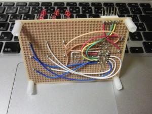 3×3×3 LED CUBE(裏面)