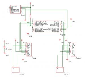 TA7291Pを使った回路
