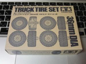 トラック・タイヤ・セットのパッケージ