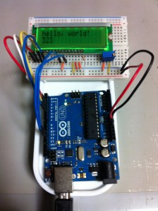 LCD接続テスト