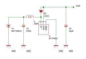HT7750A回路図