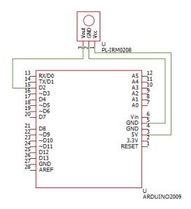 赤外線リモコン受信