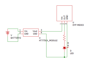 DYP-ME003テスト回路図