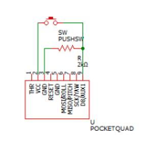 AUX1のテスト回路
