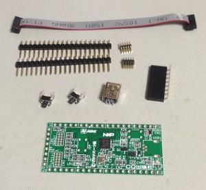 トラ技ARMライタ基板+仕上げ部品セット