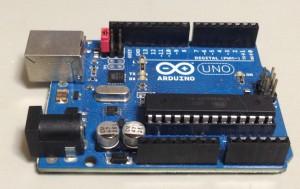 Arduino-Serialモードにする時のジャンパーピンの位置
