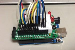 Arduino Uno R3とプロトシールド