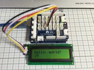 Grove Serial LCD