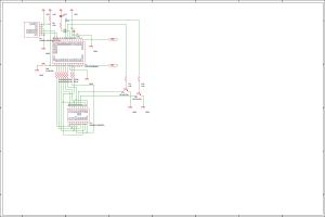 PIC16F1938のI2Cデバッグデバイスの回路図