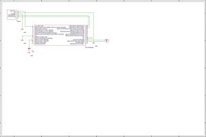 PIC16F1938のMPLAB Code ConfiguratorでGPIOとUSARTの回路図