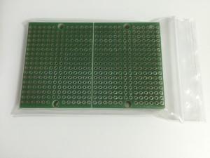 ユニバーサル基板Dタイプ(ブレッドボード配線)