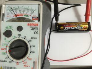 使った電池