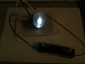コンパクト・ジュールシーフ+LEDキャップ(ダメ電池)