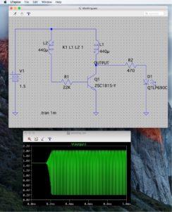 ブロッキング発振回路(その2)