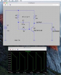 ブロッキング発振回路(その3)