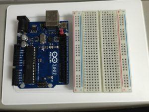 Arduino用プラットフォーム(組み立て後)