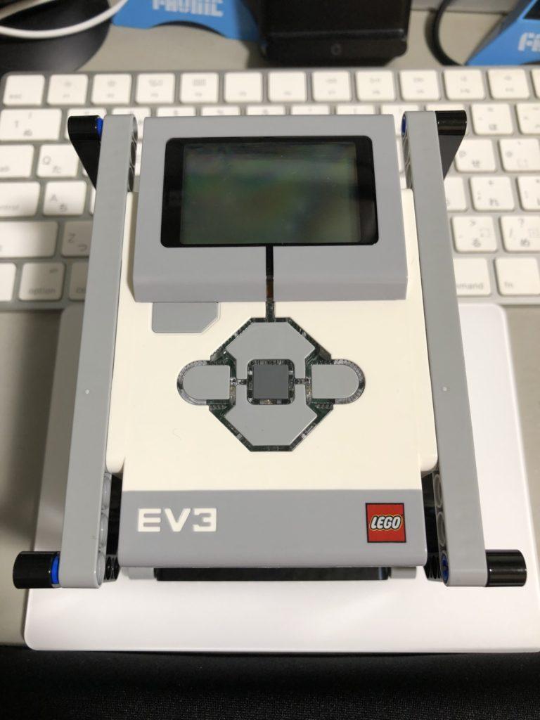 EV3を載せた直方体フレーム2(その2)