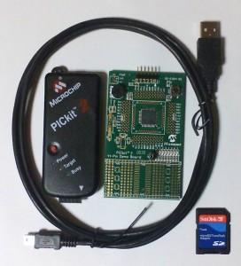 PICkit 2 Debug Expressの内容物(ハードウェア編)