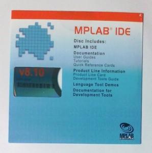 MPLAB IDE v8.10 CD-ROM