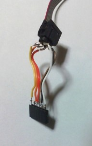 AVRISP mkII用自作ケーブルの使用案